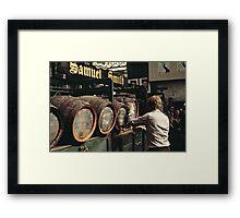 CG1 Covent Garden Beer Festival, London, 1975. Framed Print
