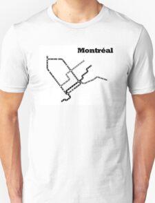 Montreal Subway Map T-Shirt