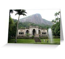 Rio de Janeiro Vista Greeting Card