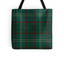 00300 Armagh County District Tartan  Tote Bag