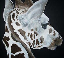 giraffe by zoombeeart