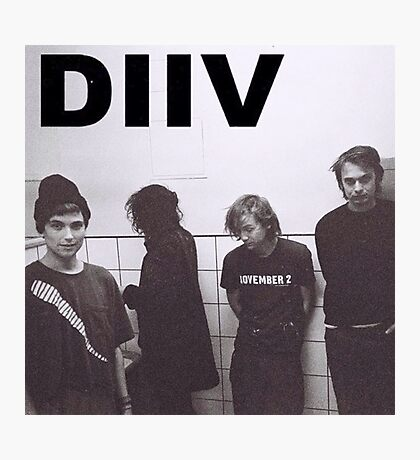 DIIV Band Photo Photographic Print