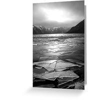 Icy Loch Greeting Card