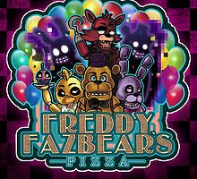 Freddy Fazbear's Pizza by novaerie