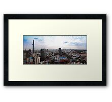 Saigon By Day Ho Chi Minh City Vietnam Framed Print
