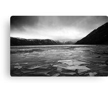 Icy Loch 5 Canvas Print