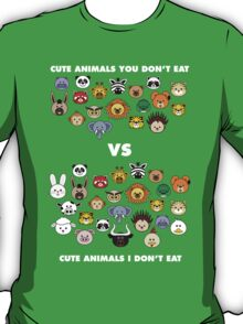 Vegetarians aren't that different T-Shirt