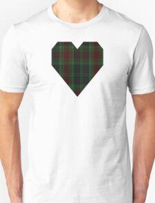 00302 Carlow County District Tartan  Unisex T-Shirt