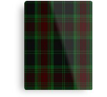 00302 Carlow County District Tartan  Metal Print