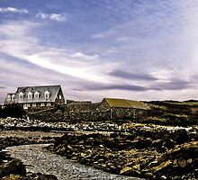 House At The End Of The Causeway - Lihou Island Guernsey by photosintheshed