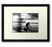 Rolling Framed Print