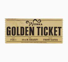 Wonka - Golden Ticket One Piece - Short Sleeve