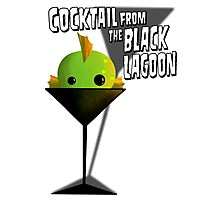 Cocktail From The Black Lagoon Photographic Print