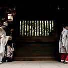 Japanese style wedding by yosshie