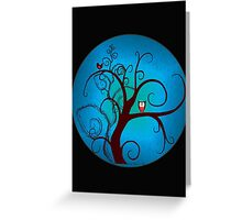 hoohoo II  Greeting Card