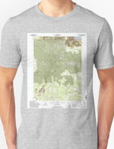 USGS Topo Map California Beaver Mountain 100272 1993 24000 T-Shirt