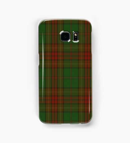 00304 Cavan County District Tartan  Samsung Galaxy Case/Skin
