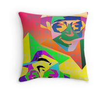 Psychedelic Fear and Loathing Throw Pillow