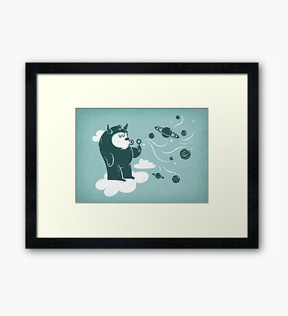 Universal Fun Framed Print