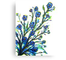 Forget-Me-Not - Flowers Canvas Print