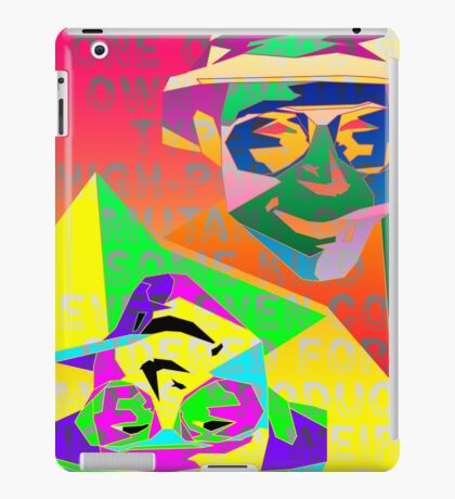 Psychedelic Fear and Loathing iPad Case/Skin