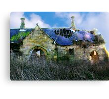 Derilict Building Canvas Print