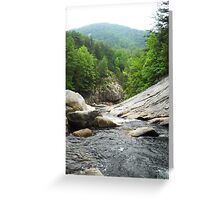 Beach Mountain Rocks Greeting Card