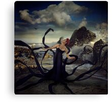 Exploring the World Above Canvas Print