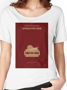 No006 My Apocalypse Now minimal movie poster Women's Relaxed Fit T-Shirt