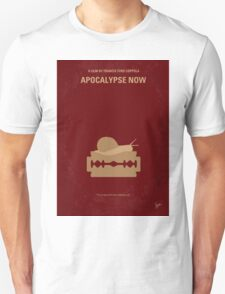 No006 My Apocalypse Now minimal movie poster T-Shirt