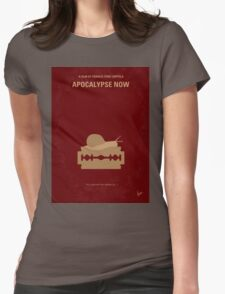 No006 My Apocalypse Now minimal movie poster Womens Fitted T-Shirt