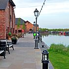 Promenade and Boats, Barton Marina by Rod Johnson