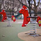 Parisian Rocking Horses by Reuben Reynoso