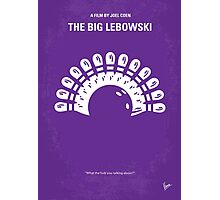 No010 My Big Lebowski minimal movie poster Photographic Print