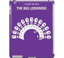 No010 My Big Lebowski minimal movie poster iPad Case/Skin