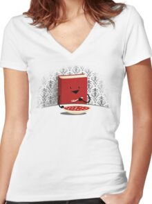 Nutrition Women's Fitted V-Neck T-Shirt