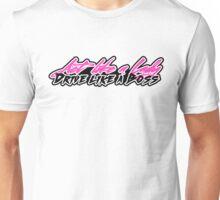 Act like a lady, drive like a boss. Unisex T-Shirt
