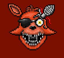 Five Nights at Freddy's 2 - Pixel art - Foxy by GEEKsomniac