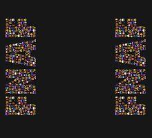 Five Nights at Freddy's - Pixel art - FNAF typography by GEEKsomniac