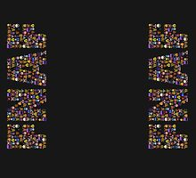 Five Nights at Freddy's - Pixel art - FNAF typography by GEEKsomniac