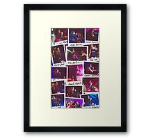 Fifth Harmony Polaroid Collage Framed Print
