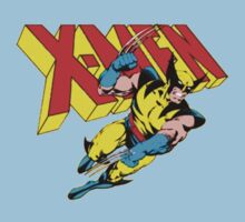 X-Men Wolverine Retro Comic Kids Tee