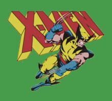 X-Men Wolverine Retro Comic One Piece - Short Sleeve