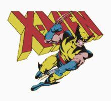 X-Men Wolverine Retro Comic Kids Tee