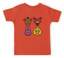 Five Nights at Freddy's 1 - Pixel art - The Classic 4 Kids Tee