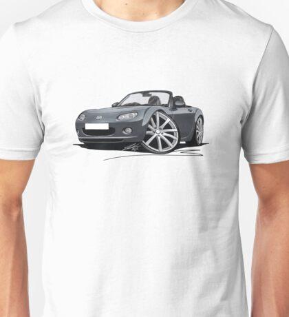 Mazda MX5 (Mk3) Grey Unisex T-Shirt