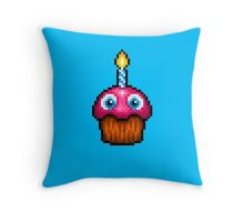 Five Nights at Freddy's 2 - Pixel art - Cupcake (no plate) Throw Pillow