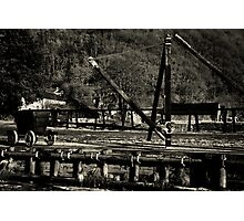 Wagon Crane Photographic Print