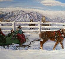 Sleigh Ride by Cathy McGregor