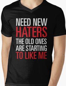 new haters Mens V-Neck T-Shirt
